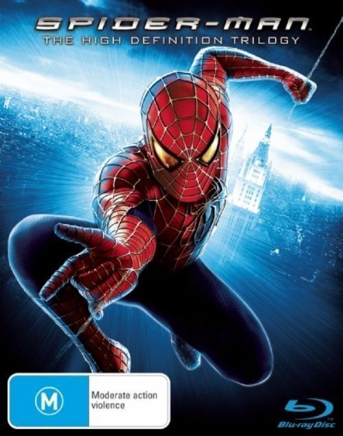 Spider-Man Trilogy on Blu-ray