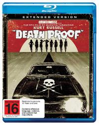 Death Proof on Blu-ray