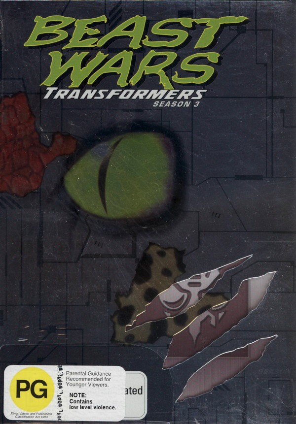 Beast Wars - Transformers: Season 3 (3 Disc Box Set) on DVD image
