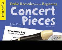 Treble Recorder Concert Pieces:  Pupil's Book image