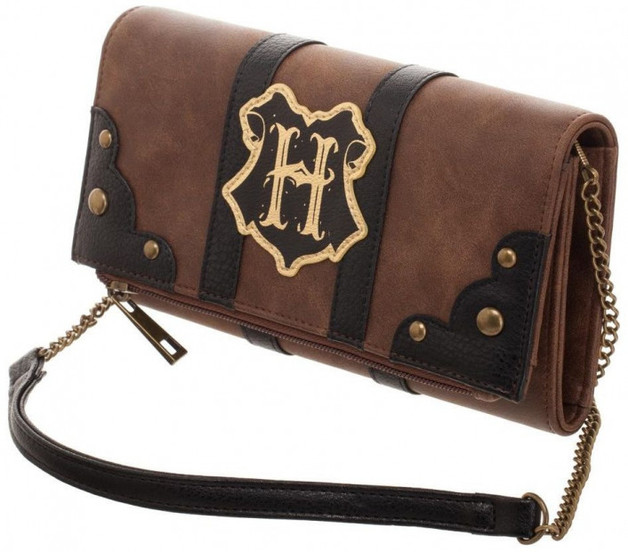 Harry Potter Trunk Inspired Foldover Clutch Bag