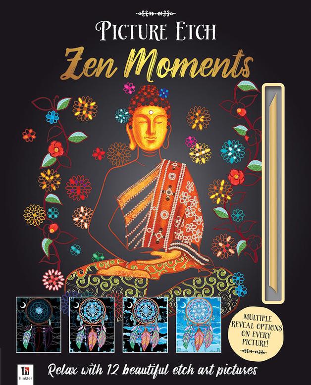 Hinkler: Picture Etch - Zen Moments