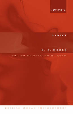 Ethics by G.E. Moore image