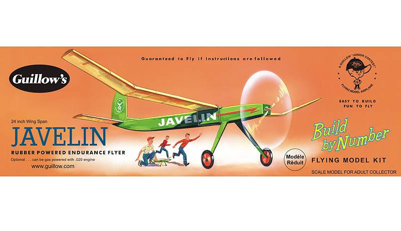 "Javelin 24"" Wingspan Aircraft Model Kit image"