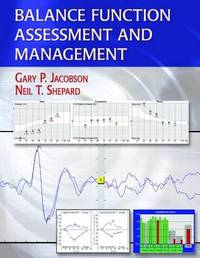 Balance Function Assessment and Management by Gary P. Jacobson image