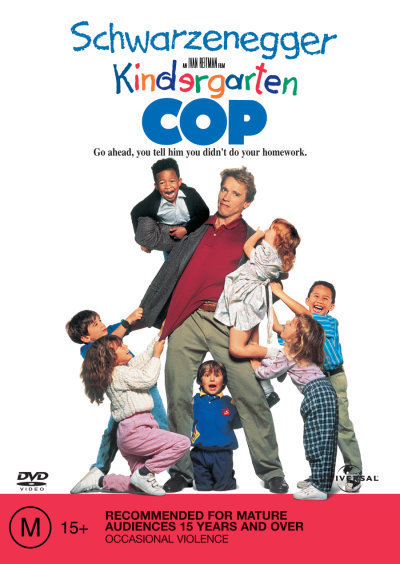 Kindergarten Cop on DVD
