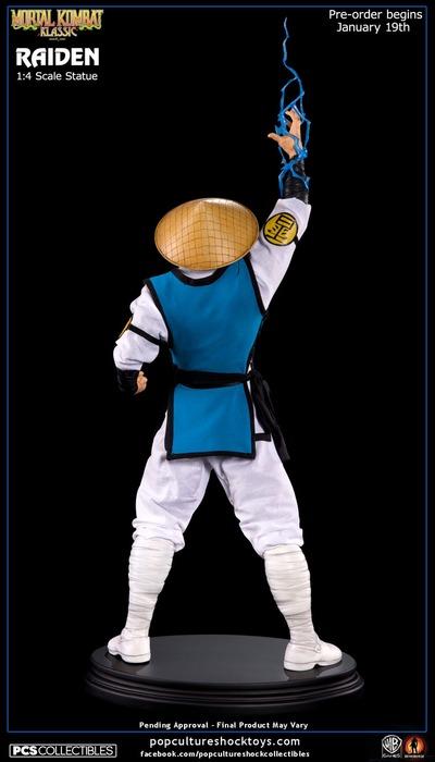 Mortal Kombat Lord Raiden 1:4 Scale Statue image