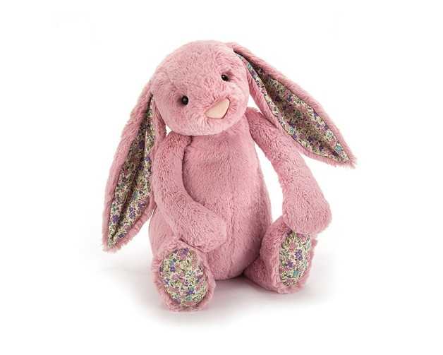 Jellycat: Bashful Bunny - Tulip Pink and Floral