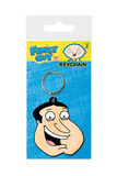 Family Guy: Quagmire Face Rubber Keychain (6cm)