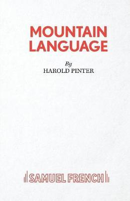 Mountain Language by Harold Pinter image