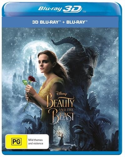 Beauty And The Beast (2017) on Blu-ray, 3D Blu-ray image