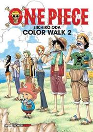 One Piece Color Walk 2 Art Book by Eiichiro Oda
