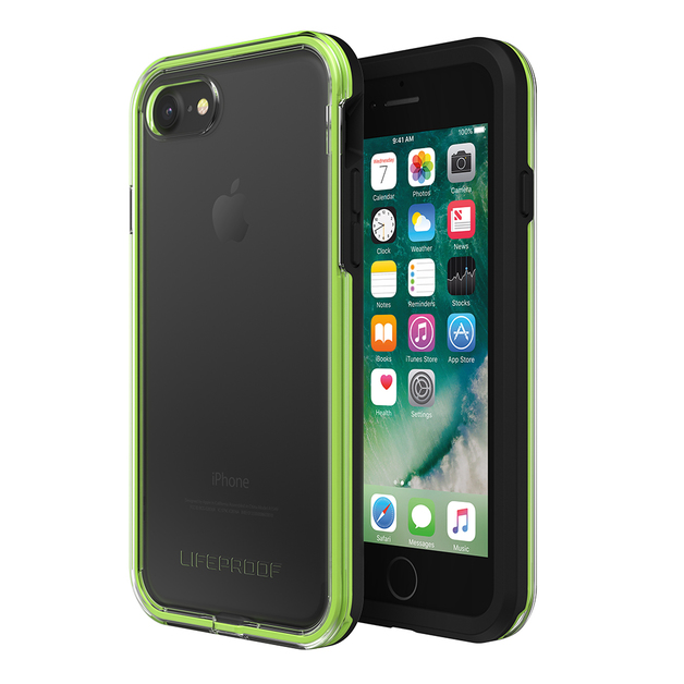 LifeProof Slam Case for iPhone 7/8 - Lime Black