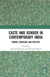 Caste and Gender in Contemporary India image