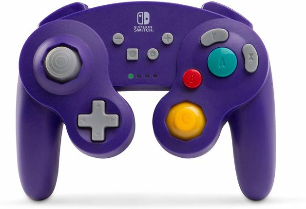 Nintendo Switch Wireless GameCube Controller - Purple for Switch