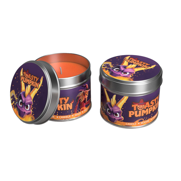 Spyro 'Toasty Pumpkin' Candle