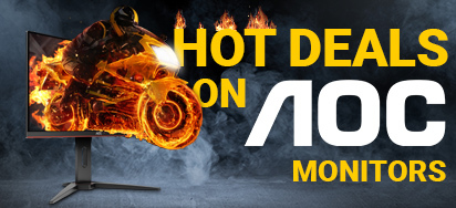 Hot Deals on AOC Monitors