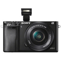 Sony: Alpha A6000 E-Mount Mirrorless Digital Camera 24.3MP With 16-50mm Lens