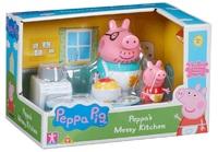 Peppa Pig Peppa S Messy Kitchen Playset