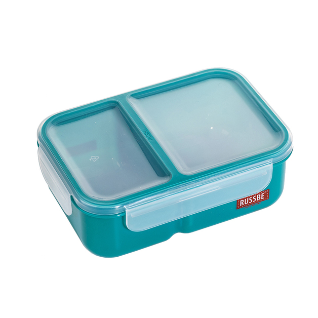Russbe Inner Seal 2 Compartment Lunch Bento 1.1 Ltr - Teal