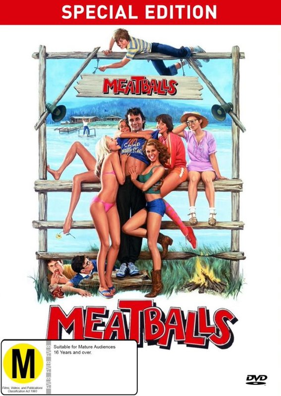 Meatballs - Special Edition on DVD