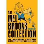 Mel Brooks Collection, The (12 Chairs, Young Frankenstein, Silent Movie, High Anxiety, History Of The World Part 1, To Be Or Not on DVD