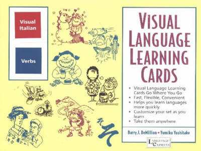 Italian Verbs: Visual Language Learning Cards by B. J. Demillion image