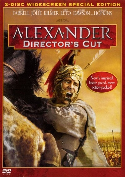 Alexander Directors Cut (Single Disc) on DVD image