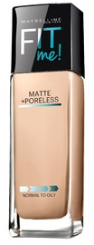 Maybelline Fit Me Matte and Poreless Foundation - Classic Ivory (30ml)