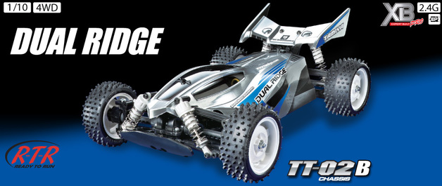 Tamiya 1:10 RTR Dual Ridge - TT-02B RC Car