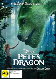 Pete's Dragon on DVD