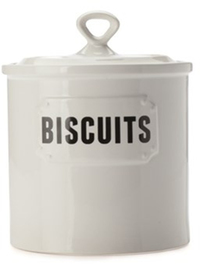 Casa Domani Rivetto Canister 2L Biscuits Gift Boxed