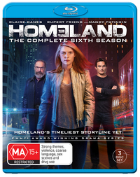 Homeland - Season 6 on Blu-ray