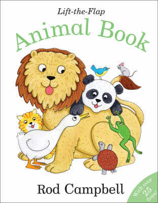 Lift-the-flap Animal Book by Rod Campbell image