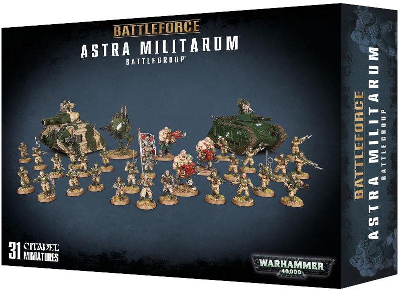 Warhammer 40 000 Battleforce Astra Militarum Battlegroup
