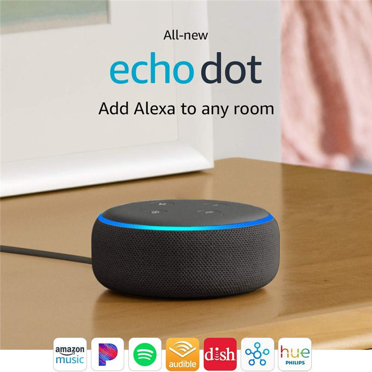 Amazon Echo Dot (3rd Gen) - Smart speaker with Alexa - Charcoal image