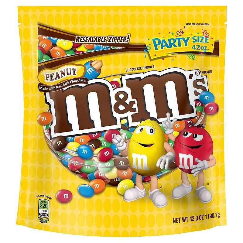M&M's Peanut Party Bag (1.19kg) image