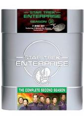 Star Trek: Enterprise - Season 2 on DVD