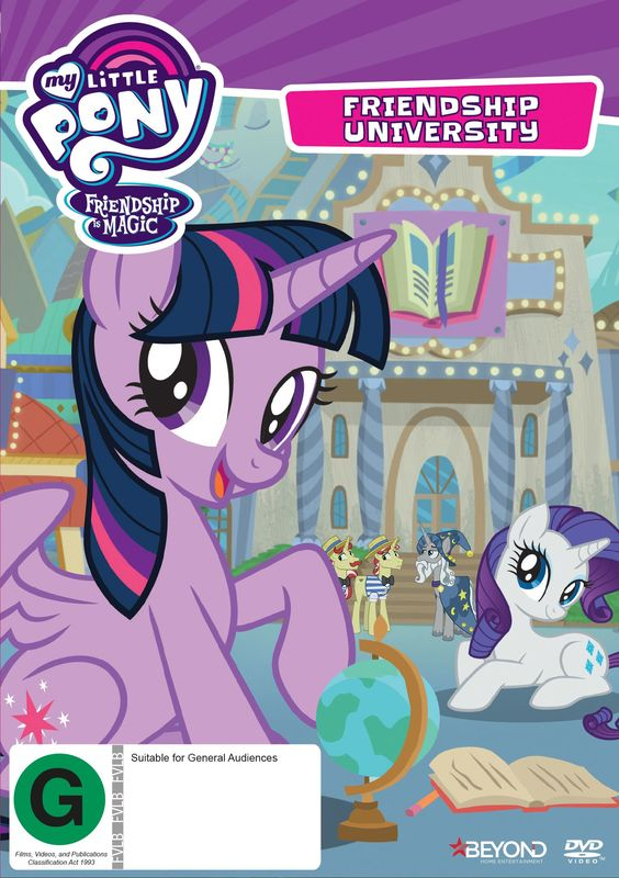 My Little Pony: Friendship Is Magic: Friendship University on DVD