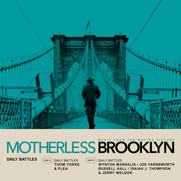Daily Battles (From Motherless Brooklyn: Original Motion Picture Soundtrack) (LP) by Thom Yorke