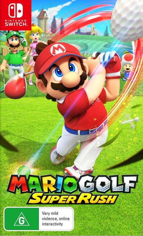 Mario Golf Super Rush for Switch