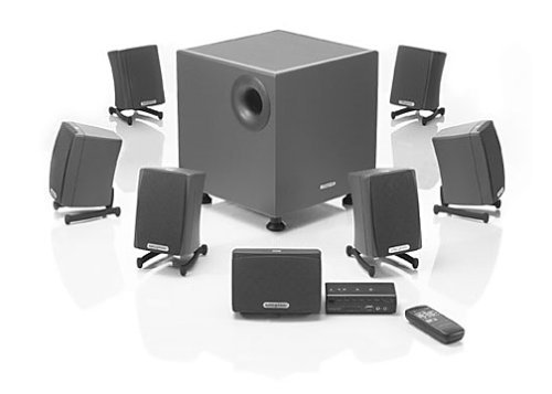 CREATIVE LABS Creative Gigaworks 7.1 S750 speakers image