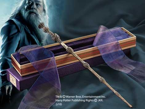 Harry Potter Wand Replica - Dumbledores with Ollivanders Box image