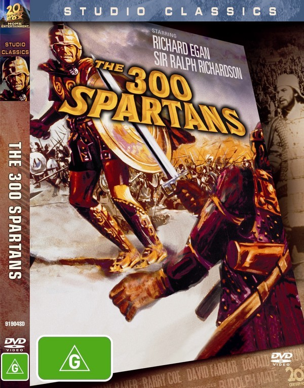 300 Spartans, The (Studio Classics) on DVD