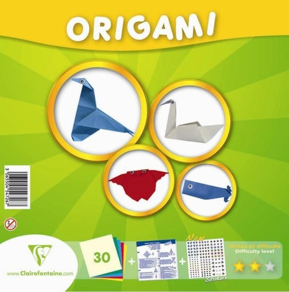 Advanced Level Origami Kit - 30 Asst sheets