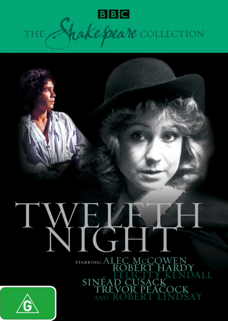 Twelfth Night (1980) (Shakespeare Collection) on DVD image