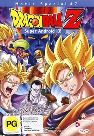 Dragon Ball Z - Movie 07 - Super Android 13! on DVD image
