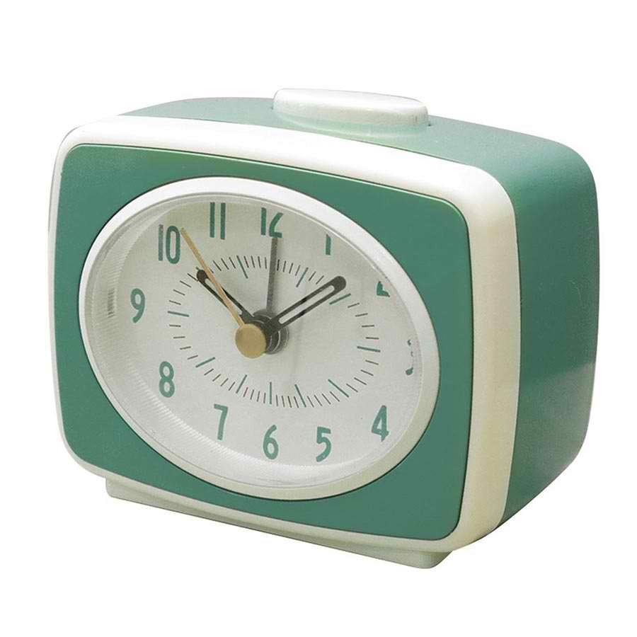 Small Classic Alarm Clock - Mint image