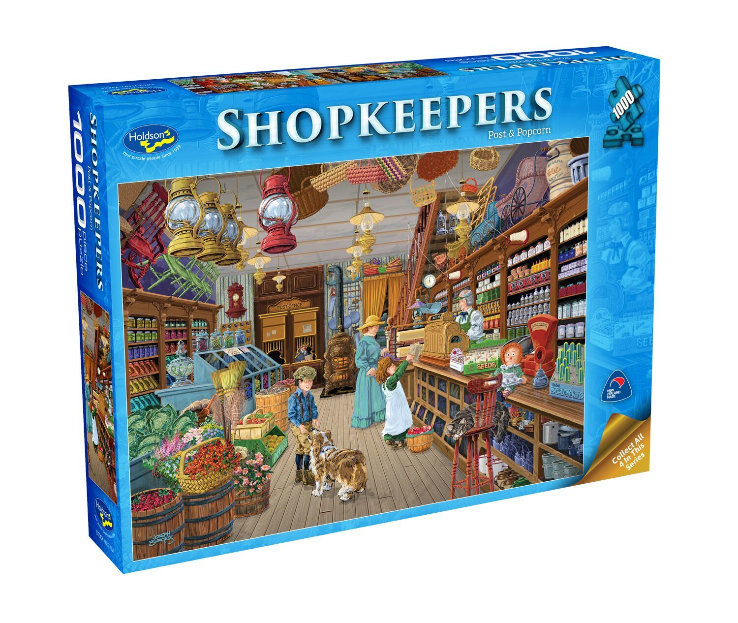Holdson: Shopkeepers - Post & Popcorn (1000pc puzzle) image