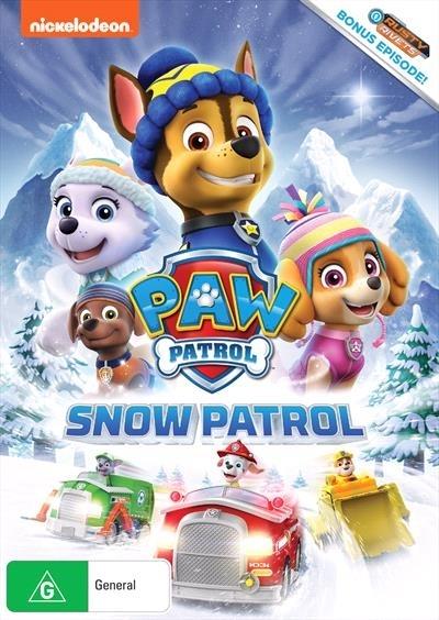 Paw Patrol: Snow Patrol on DVD image